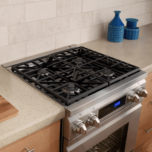 """Dacor - Distinctive 30"""" Slide-In Dual-Fuel Range,, in Stainless Steel with Liquid Propane"""