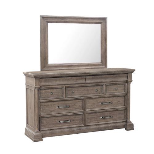 Crestmont Dresser in Brown