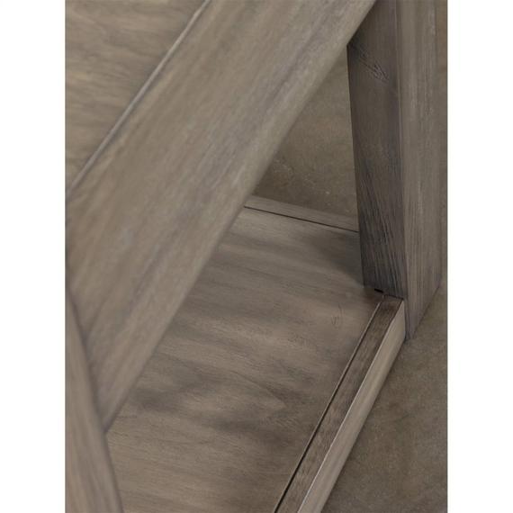 Riverside - Riata Gray - Side Table - Gray Wash Finish