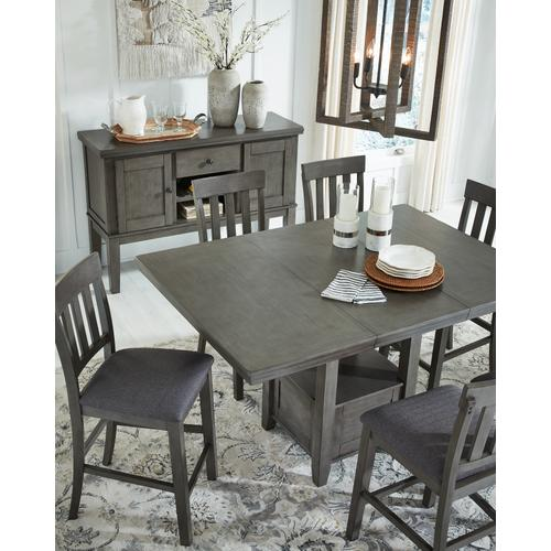 Hallanden Counter Height Dining Extension Table