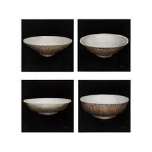 Teng Fei's Set of Four Porcelain Vessels