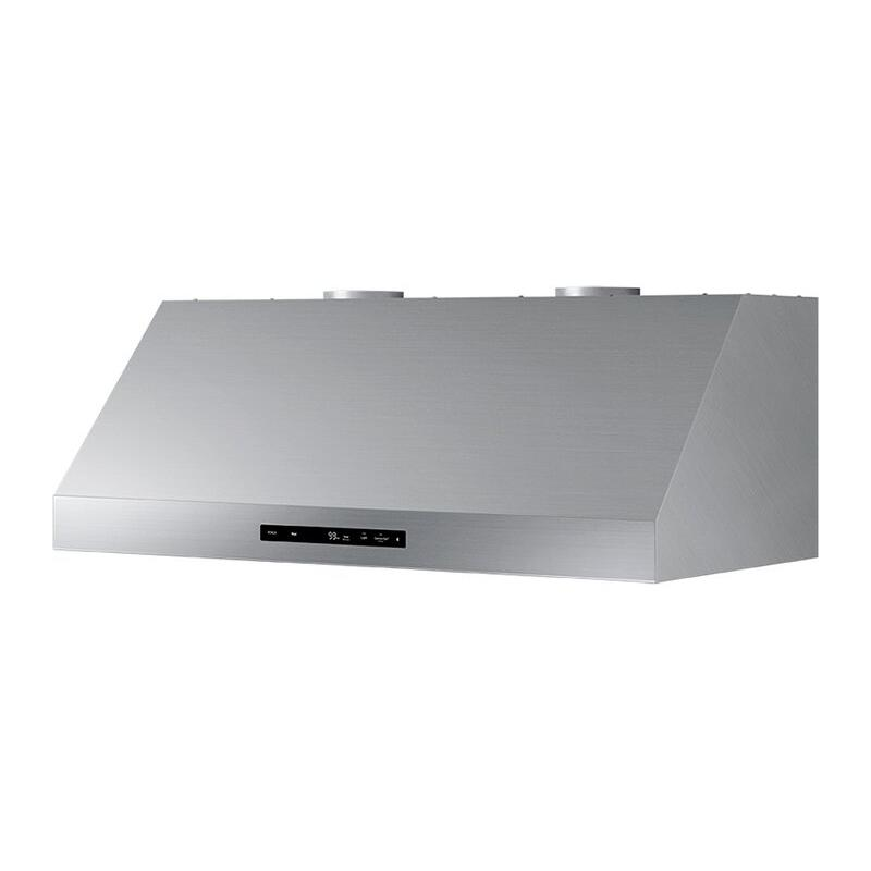 "48"" Wall Hood, Silver Stainless Steel"