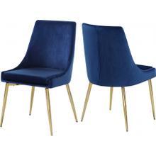 """Karina Velvet Dining Chair - 19.5"""" W x 21.5"""" D x 33.5"""" H"""