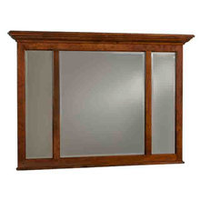 See Details - Three Panel Mirror with Crown Moulding