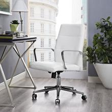 Stride Mid Back Office Chair in White