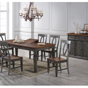 SP4078T/B/SPOO3  Table and 6 Chairs - ST.PETE Napoleon