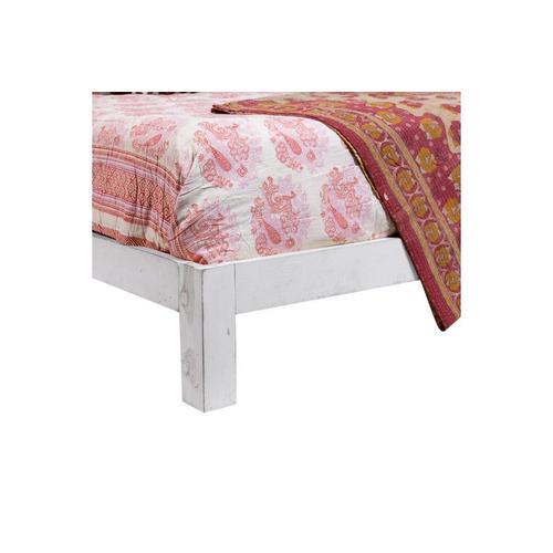 Bali White Queen Bed, SB-CBD-W
