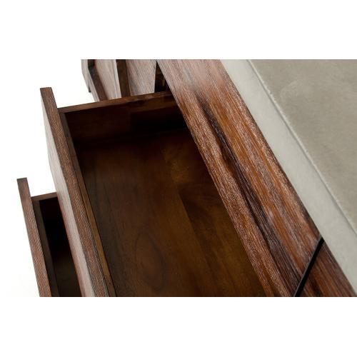 Modrest Revok Modern Concrete & Acacia Buffet