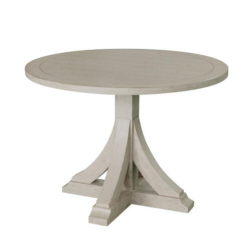 Gray Farmhouse Bistro Table - Base