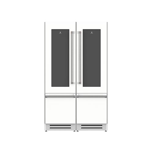 "Hestan - 48"" Wine Refrigerator Ensemble Refrigeration Suite - Froth"
