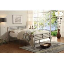 Full Metal Platform Bed