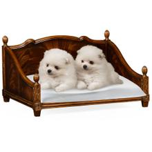 See Details - Mahogany veneer four poster dog bed