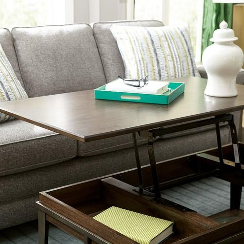 Gallery - RECTANGULAR LIFT TOP COFFEE TABLE