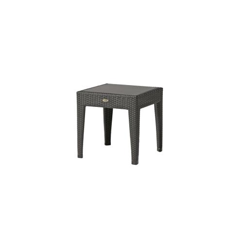 Crystal River End Table w/Aluminum Top