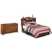 See Details - Full Bookcase Headboard With Dresser