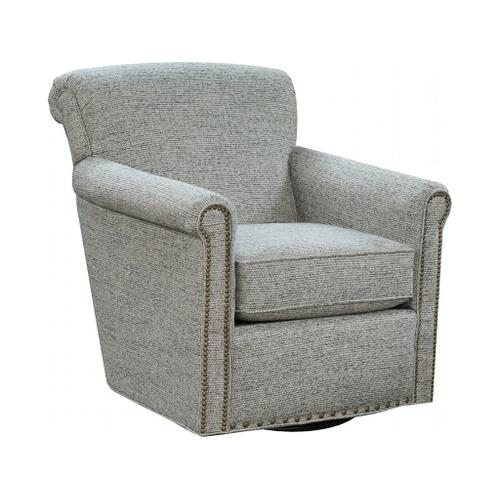 England Furniture - 3C0069N Jakson Swivel Chair with Nails