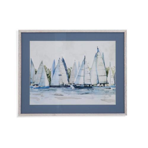 Bassett Mirror Company - Pastel Marina II