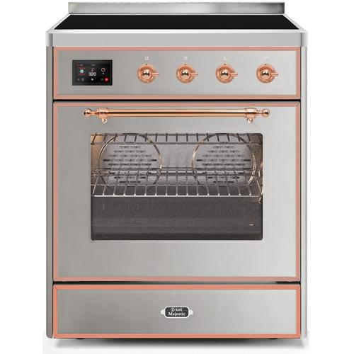 30 Inch Stainless Steel Electric Freestanding Range
