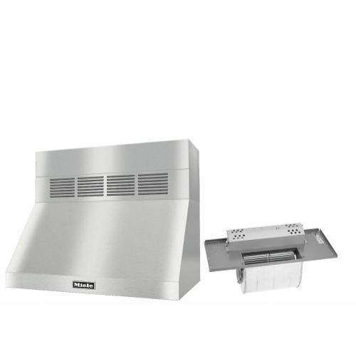"DAR 1230 Set 2 Wall-Mounted Range Hood With Circulation Mode with integrated XL motor including 6"" chimney cover."