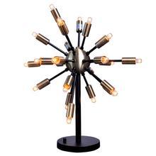 Sputnik Table Light  Antique Brass