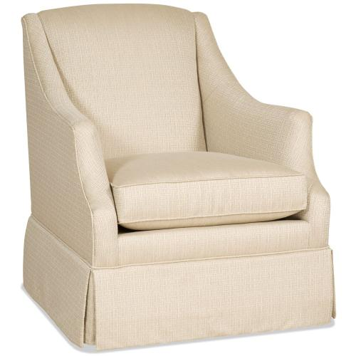 Living Room Lark Skirted Swivel Glider