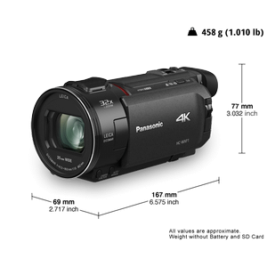 HC-WXF1 4K/HD Camcorders