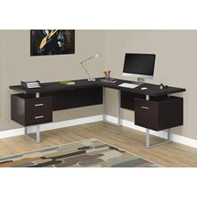 "COMPUTER DESK - 70""L / ESPRESSO LEFT OR RIGHT FACING"