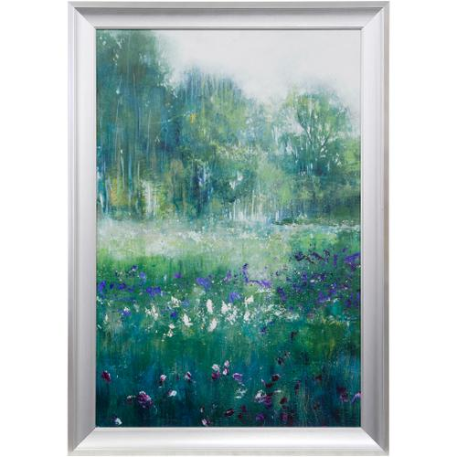 Style Craft - IRIS FIELDS  29 X 41  Made in USA  Textured Framed Print