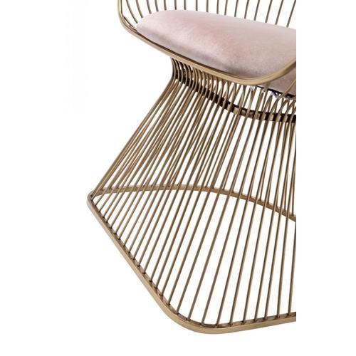 Modrest Chandler Modern Brown & Cream Dining Chair