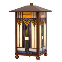 25W Tiffany accent lamp