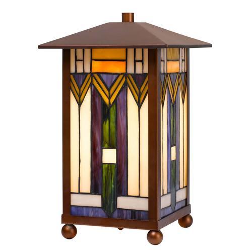 25W Tiffany accent lamp