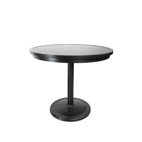 "Monaco 48"" Round Pedestal Bar Table"