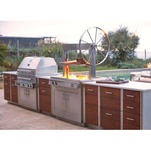 K750 Built-in Gaucho Grill