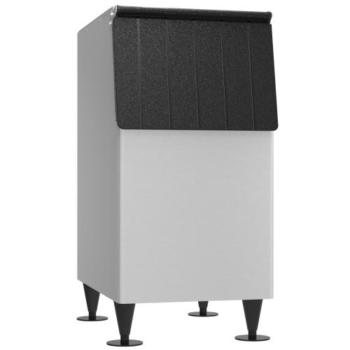 "BD-300SF, 22"" W Ice Storage Bin with 300 lbs Capacity - Stainless Steel Exterior"