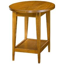 End Table (oval)