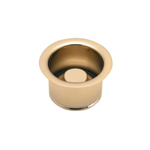 Garbage Disposer Deep Flange & Stopper - Antique Brass