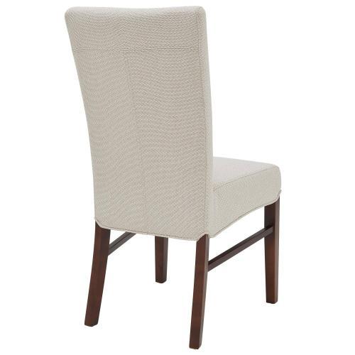 Milton Fabric Dining Side Chair, Cardiff Cream
