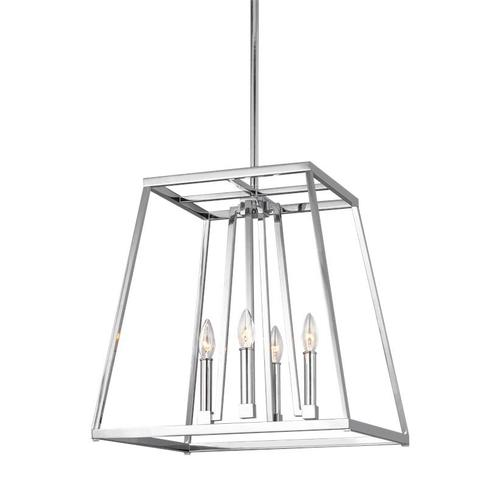Conant Medium Lantern Chrome