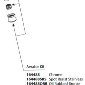 Weymouth Oil Rubbed Bronze Aerator Kit