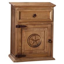 Night Stand - Left Hinge - Texas Star