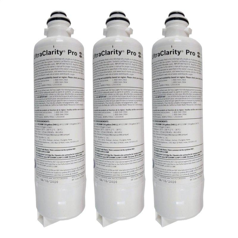 UltraClarityPro™ Water Filters 3 pack of Water Filter BORPLFTR50 11041954