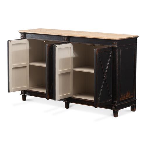 Marksman Sideboard, Antique Ebony