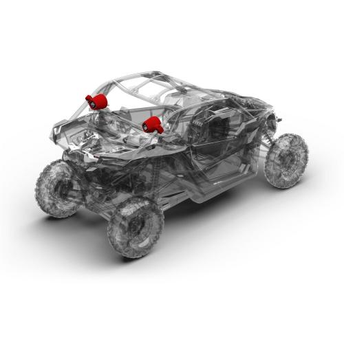 Rockford Fosgate - Add on rear speaker kit for X3-STAGE2 & X3-STAGE3