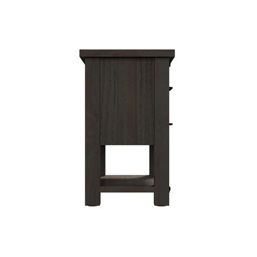 Newton 2-drawer Nightstand, Cocoa Brown 2623-36