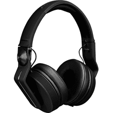 On-ear DJ headphones (black)