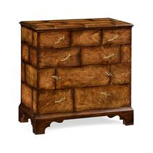 Rustic chest of four drawers heavy distress