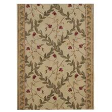 "Ashton House Regal Vine A02r Ivory 36"" Runner"