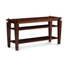 B&O Railroade Spike Open TV Stand, Character Cherry #28 Bourbon