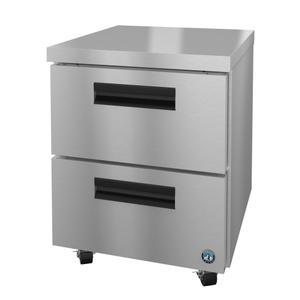HoshizakiUF27A-D2, Freezer, Single Section Undercounter, Stainless Drawers