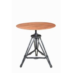 Metal / Wood Accent Table